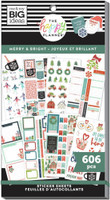 The Happy Planner - Me and My Big Ideas - Value Sticker Book - Merry & Bright (#606)