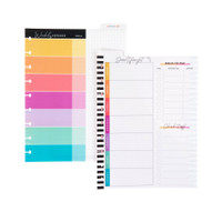 The Happy Planner - Me and My Big Ideas - Savvy Saver Classic Wet Erase Dashboard - Budget Tracker