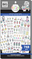 The Happy Planner - Me and My Big Ideas - Value Sticker Book - Stick Girls Craft (#748)