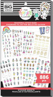 The Happy Planner - Me and My Big Ideas - Value Sticker Book - Stick Girls Seasonal (#886)