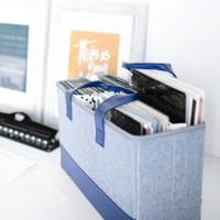 The Happy Planner - Me and My Big Ideas - BIG Planner Storage Tote - Denim Blue