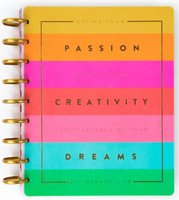 The Happy Planner - Me and My Big Ideas - Define Your Passion Classic Happy Planner - 12 Months (Dated, Vertical)