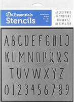 Paper Accents - Bullet Journaling Stencils - Adventure Alpha
