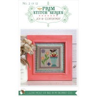 It's Sew Emma - Cross Stitch Pattern - Prim Series #2 - Joy & Contentment