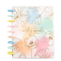 The Happy Planner - Me and My Big Ideas - 2021 Linear Florals Classic Happy Planner - 12 Months (Dated, Vertical)