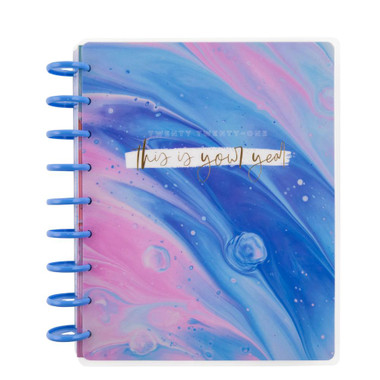 The Happy Planner Me And My Big Ideas 2021 Marbled Paint Classic Happy Planner 12 Months Dated Vertical Carefullycrafted
