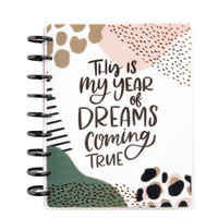 The Happy Planner - Me and My Big Ideas - 2021 Leopard Everything Classic Happy Planner - 12 Months (Dated, Horizontal)