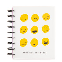 The Happy Planner - Me and My Big Ideas - 2021 All The Feels Classic Happy Planner - 12 Months (Dated, Vertical - Mood Tracker)