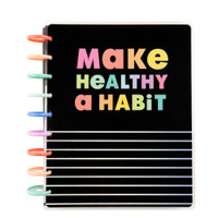 The Happy Planner - Me and My Big Ideas - 2021 Healthy Habits Classic Happy Planner - 12 Months (Dated, Vertical - Fitness)
