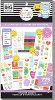 The Happy Planner - Me and My Big Ideas - Value Sticker Book - All The Feels (#775)