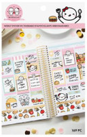Craft Smith - OnceMoreWithLove - Weekly Sticker Book - Food