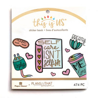 Paper House - Mini Sticker Book - This is Us - Pastel Self Care