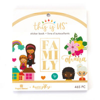 Paper House - Mini Sticker Book - This is Us - Our Family