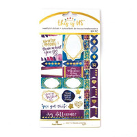 Paper House - Weekly Planner Sticker Kit - This is Us - Empowerment