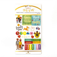 Paper House - Weekly Planner Sticker Kit - This is Us - Family Life