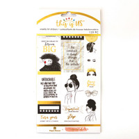Paper House - Weekly Planner Sticker Kit - This is Us - Glamorous Girls