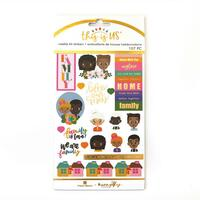 Paper House - Weekly Planner Sticker Kit - This is Us - Family Is Love