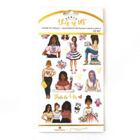 Paper House - Weekly Planner Sticker Kit - This is Us - Be You Tiful