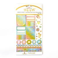 Paper House - Weekly Planner Sticker Kit - This is Us - Pastel Self Care