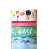 Paper House - Washi Tape - This Is Us - Just Be You