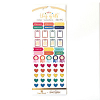 Paper House - Functional Sticker Set - This is Us - Bright Self Care