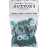 Riley Blake Designs - Lori Holt of Bee in my Bonnet - Cute Little Buttons - Porch Swing
