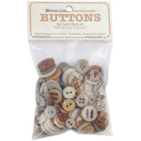 Riley Blake Designs - Lori Holt of Bee in my Bonnet - Cute Little Buttons - Farmhouse