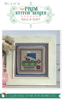 It's Sew Emma - Cross Stitch Pattern - Prim Series #3 - Peace and Plenty