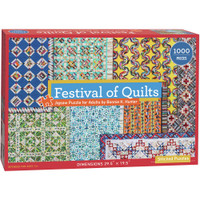 C & T Publishing Jigsaw Puzzle - Festival Of Quilts
