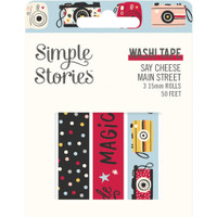 Carpe Diem - Simple Stories - Say Cheese Main Street Washi Tape - Set of 3