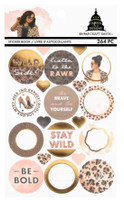 Craft Smith - Capitol Chic Designs - Sticker Book - Cheetah
