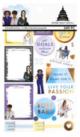 Craft Smith - Capitol Chic Designs - Sticker Book - Budget Babes Flat Stickers