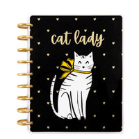 The Happy Planner - Me and My Big Ideas - 2021 Cat Lady Classic Happy Planner - 12 Months (Dated, Vertical)