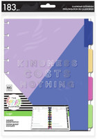 The Happy Planner - Me and My Big Ideas - Kindness Costs Nothing Classic Budget Extension Pack (Undated)