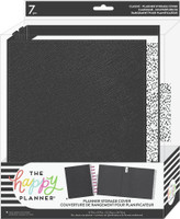 The Happy Planner - Me and My Big Ideas - Black Dots Classic Planner Storage Cover
