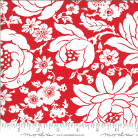 Moda Fabric - Shine On - Bonnie & Camille - Mums Red #55210 11