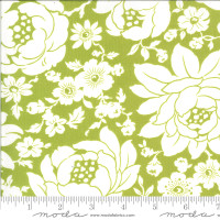 Moda Fabric - Shine On - Bonnie & Camille - Mums Green #55210 16