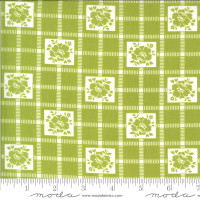 Moda Fabric - Shine On - Bonnie & Camille - Check Green #55212 16