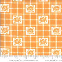 Moda Fabric - Shine On - Bonnie & Camille - Check Nectarine #55212 19