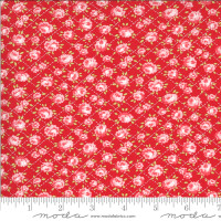 Moda Fabric - Shine On - Bonnie & Camille - Roses Red #55214 11