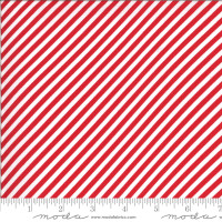 Moda Fabric - Shine On - Bonnie & Camille - Stripe Red #55215 11