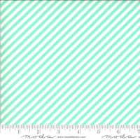 Moda Fabric - Shine On - Bonnie & Camille - Stripe Aqua #55215 13
