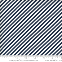 Moda Fabric - Shine On - Bonnie & Camille - Stripe Navy #55215 17