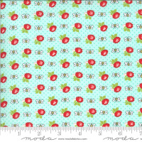 Moda Fabric - Shine On - Bonnie & Camille - Beesley Aqua #55216 13