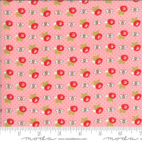 Moda Fabric - Shine On - Bonnie & Camille - Beesley Pink #55216 15