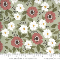 Moda Fabric - Folktale - Lella Boutique - Forest Path Sage #5120 14