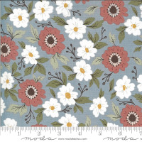 Moda Fabric - Folktale - Lella Boutique - Forest Path Sky #5120 17