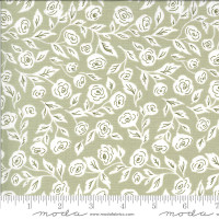 Moda Fabric - Folktale - Lella Boutique - Enchanted Bloom Sage #5121 14