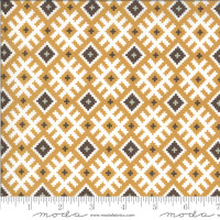 Moda Fabric - Folktale - Lella Boutique - Gypsy Kiss Golden #5122 16