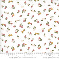 Moda Fabric - Folktale - Lella Boutique - Posie Gathering Cloud #5123 11